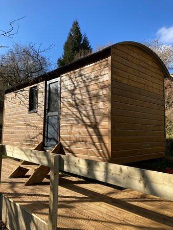 Holne, UK: Shepherds hut