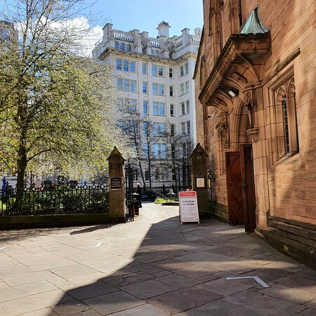 Our Lady And St Nicholas Church in Liverpool Commercial District