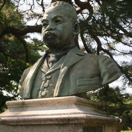 Statue of Kume Taminosuke