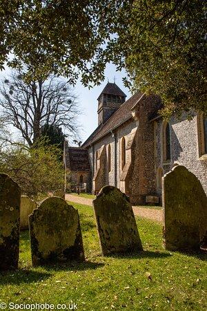 Hinton Ampner, UK: All Saints churchyard