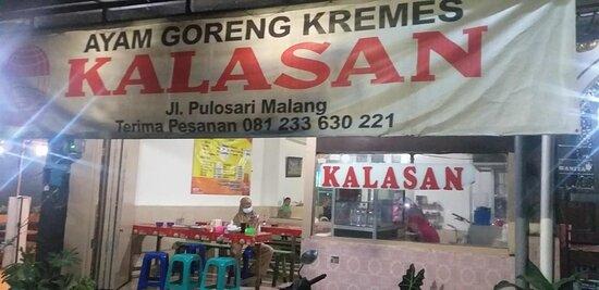 Malang, Indonesia: Ayam Goreng Kremes Kalasan
