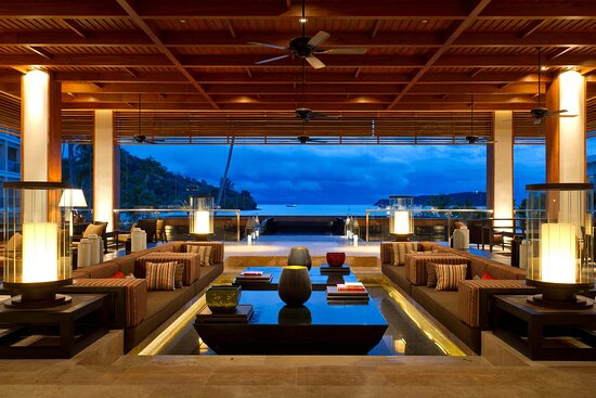 Lobby Bar with stunning view of Andaman Sea