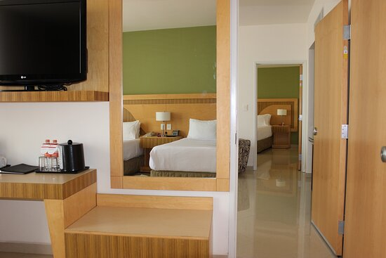 Adjoining Double executive room and Presidential Suite