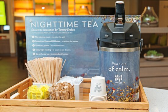 Be Well with Night Time Tea Service