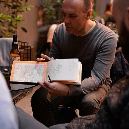 Drink & Draw - Artists Pop-up meeting
