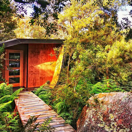Blue Derby Pods Ride Experience 3-Day Mountain Bike Adventure in Exclusive Pods: Hidden treasures, sleeping pods.