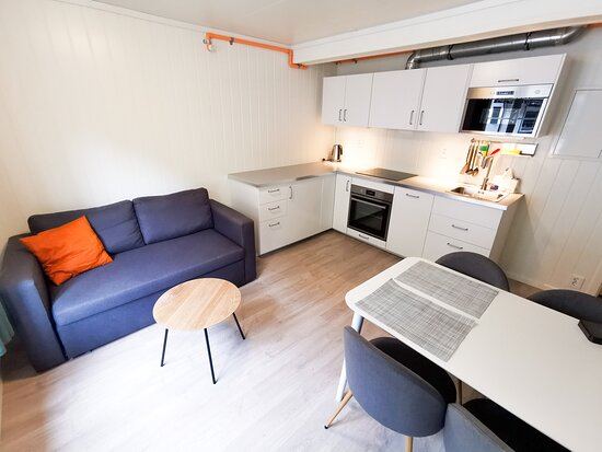 Apartment for 4 people with kitchen