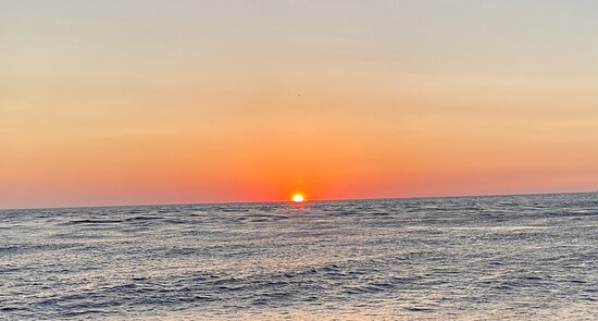 Sunset & Dolphin Catamaran Cruise in Panama City Beach: Perfect sunset