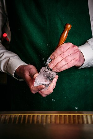 Our expert bar team bring you a hotel bar experience without the hotel!