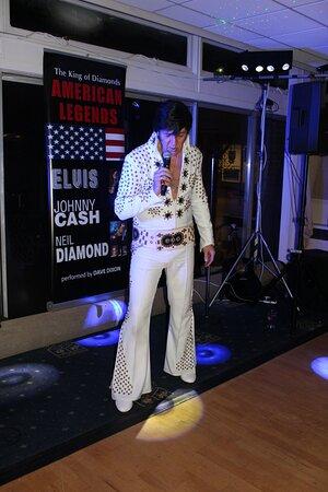 Elvis and Neil Diamond Tribute Act.