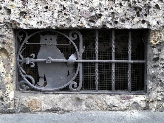 Il gatto in ferro battuto