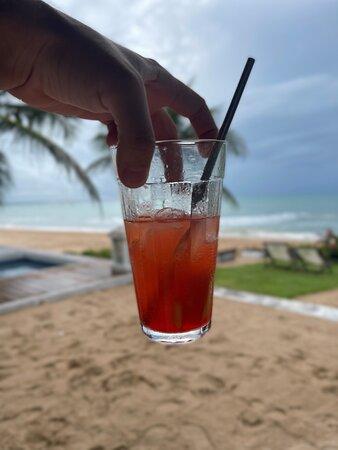 Drink Pôr do Sol de Moitas.