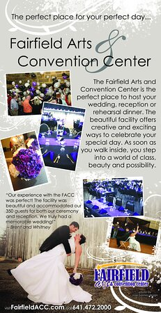 Fairfield, IA: We can make your special day wonderful!