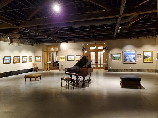 Piassick Gallery with our player piano!
