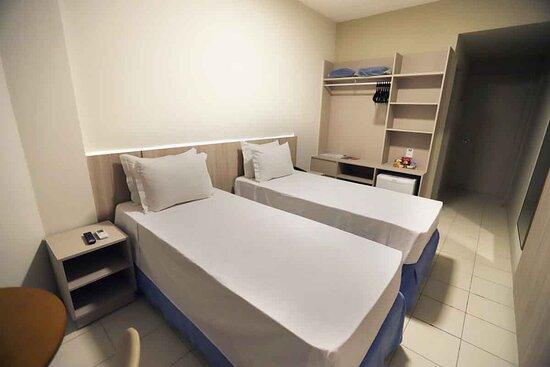 Foto de Hotel da Costa By Nobile, Aracaju: Apartamento Superior Quadruplo (quatro camas de solteiro) - Tripadvisor