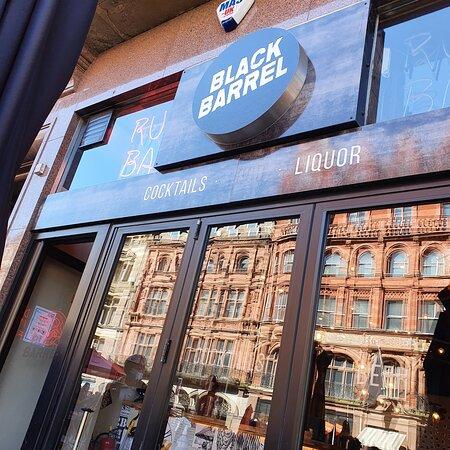Black Barrel Bar in Liverpool Buisness District