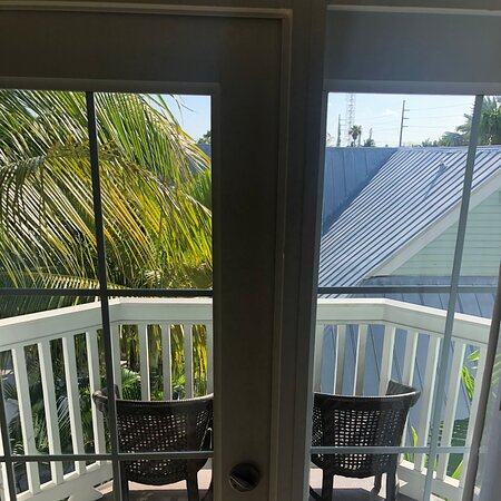 Just checked in at Southernmost resort.   Paying  $1,200 a night for a pool view room (booked late). This is the view from my room (room itself is fine) - the view doesn't live up to the booking.  Asked the front desk if I could change rooms (booked 5 nights).  Told could mice 2 doors down tomorrow night.  Asked for a discount on the room or downgrade to a parking lot room for less money (can't be worse then the roof view) - no go.  I should have paid the extra couple of bucks for the Waldorf.
