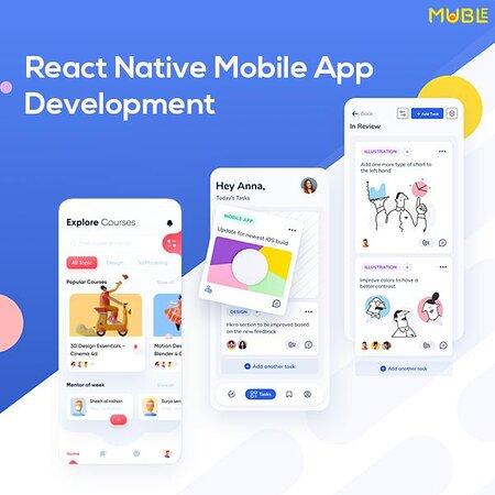 الهند: Build a striking and function-rich mobile app for your business with our React Native app development services........... https://mublesolutions.com/mobile-app-development  #reactnative #mobileappdevelopmentcompany #reactnativemobileappdevelopment #ReactJS #mobileappdevelopmentservices #softwaredevelopmentcompany #technologies #muble #mublesolutions #newtechnologies #softwaresolutions #ReactNative #mobileapps