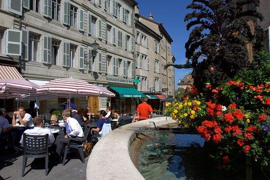 Old city of Geneva