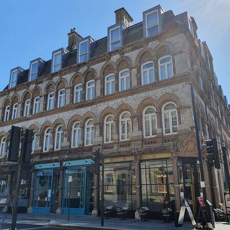 Beautiful building along Dale Street