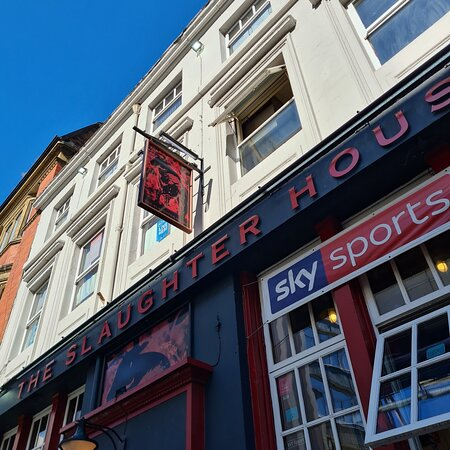 The Slaughterhouse Pub in Liverpool Buisness District