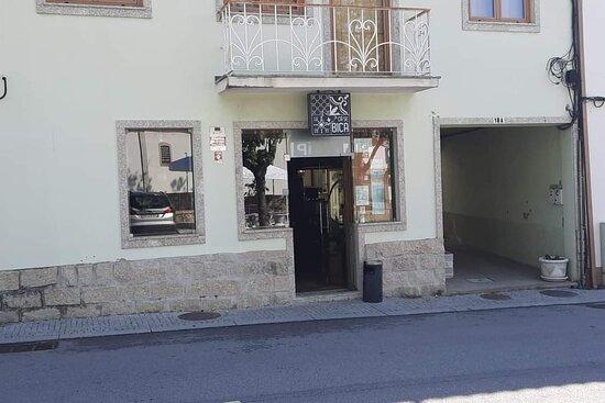 Viseu, Portugal: Nossa entrada