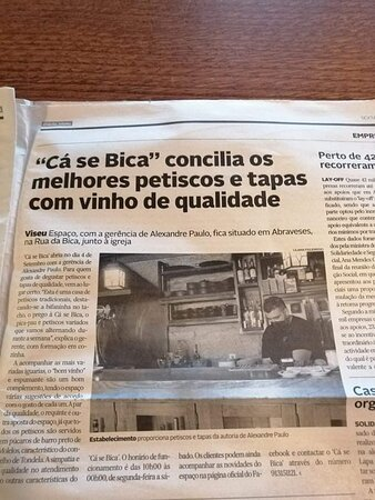 Viseu, Portugal: Entrevista...
