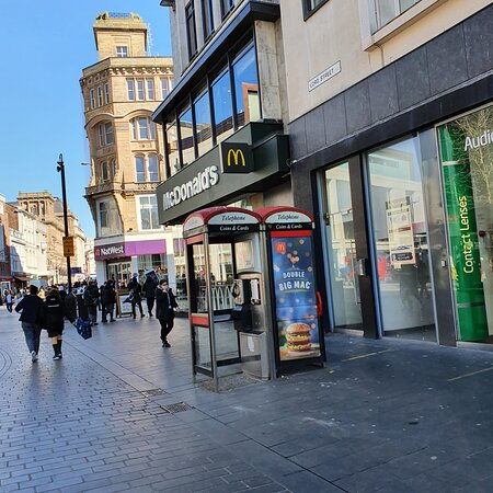 McDonald's along Lord Street