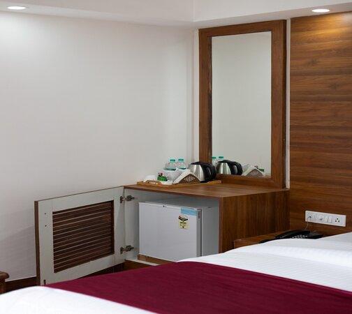 Mini Fridge in Rooms