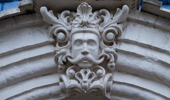 Потрясающий декор фасада