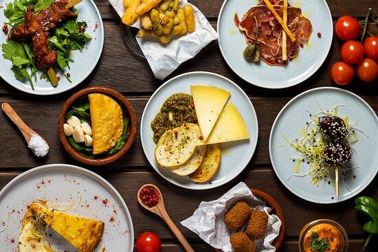 selection of tapas