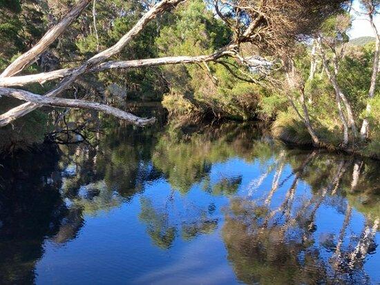 Sisters Beach, Austrália: Still Water