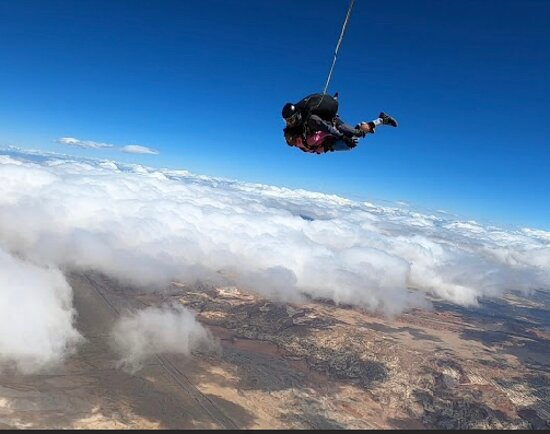Best place to be and experience skydiving