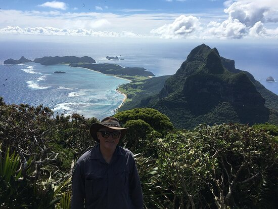 Mt Gower offers a unique challenge to hikers who are rewarded with magnificent panoramic views of the island on a clear day.