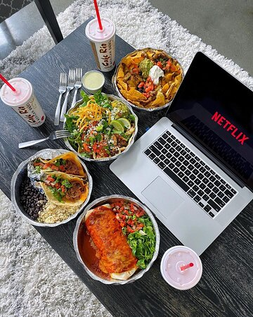 Cafe Rio Curbside Pickup, Netflix Party