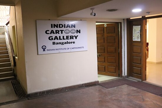 Bangalore, India: Indian cartoon Gallery is a one-stop destination for all cartoon lovers.