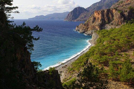 Excursion privée d'une journée sur la côte sud de la Crète avec prise...