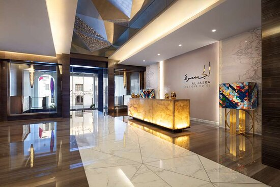 Al Jasra Lobby area