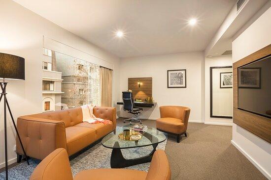 Suite guest living area