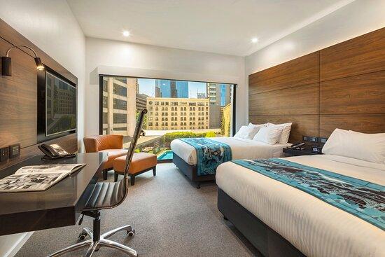 2 Bed Poolside Guestroom