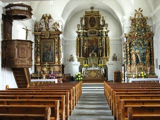 Baselgia parochiala sogn Gagl e sogn Otmar