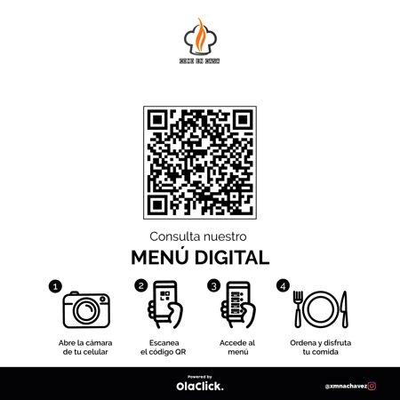 San Luis, Pérou: selecciona tu menú desde el código QR escanéalo y listo nosotros te atenderemos