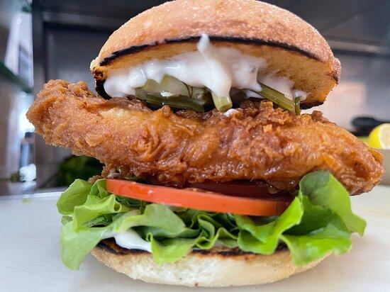Alstonville, Australia: Southern Fried Chicken Burger