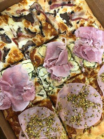 Pizza da asporto dal Gnupo