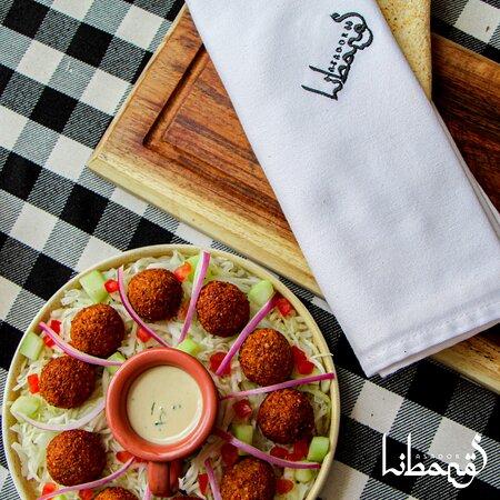falafel/corquetas de garbanzo