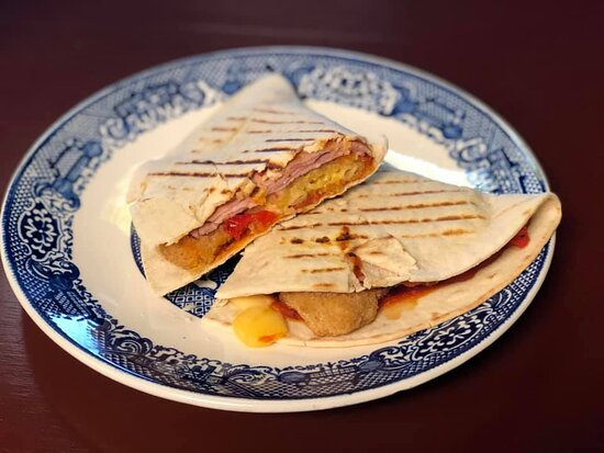 Middleville, MI: The Scooby Snack panini is the perfect solution to a big appetite!