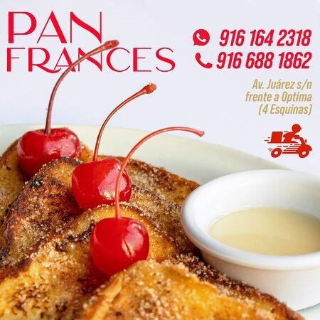 ¿Algo dulce? Pan francés, riquísimo