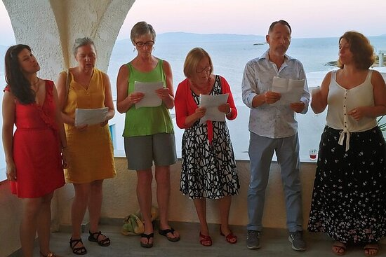 Private 10-Day Greek Language and Culture Course in Paros Island