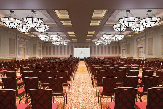 Kashgar Grand Ballroom - Theater Setup with Backdrop