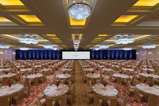 Kashgar Grand Ballroom - Banquet Setup with Backdrop